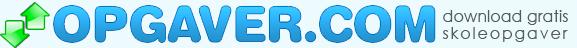 Opgaver.com topbanner