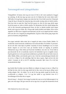 dansk essay om ytringsfrihed