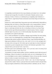 Analyserende artikel - Dansk - Opgaver.com
