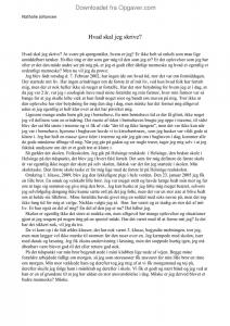 at skrive essay dansk