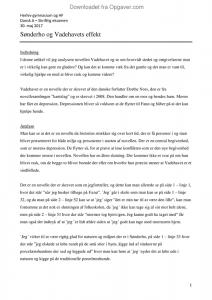 analyserende artikel dansk