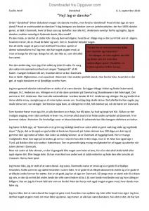 hvad er danskhed essay