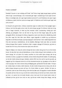 essay om ondskab 9 klasse