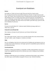 Aktiemarkedsforhold analyse pdf
